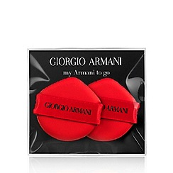 ARMANI - To Go' cushion foundation sponge x 2