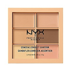 NYX Professional Makeup - Light Colour Correcting Concealer 3C Palette 9g