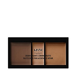 NYX Professional Makeup - Cream highlighter and contour palette 11g