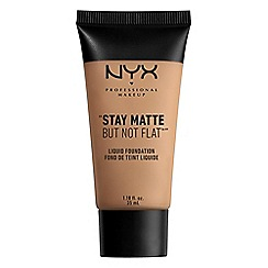 NYX Professional Makeup - 'Stay Matte But Not Flat' liquid foundation 35ml