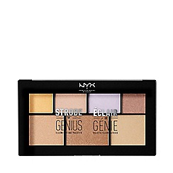 NYX Professional Makeup - 'Strobe Of Genius' illuminating highlighter palette