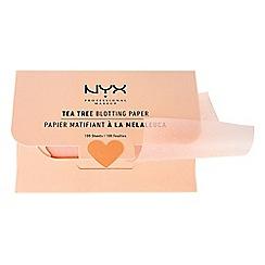 NYX Professional Makeup - 'Tea Tree' blotting papers