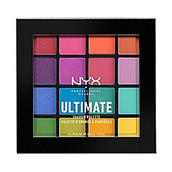 NYX Professional Makeup - 'Ultimate - Bright' eye shadow palette