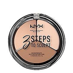 NYX Professional Makeup - '3 Steps To Sculpt' Face Sculpting Palette 5g