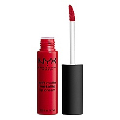 NYX Professional Makeup - Soft matte metallic lip cream 6.7ml