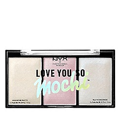 NYX Professional Makeup - 'Love You So Mochi' highlighter palette