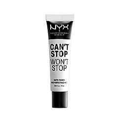 NYX Professional Makeup - 'Can't Stop Won't Stop' Matter Primer 25ml