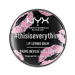 NYX Professional Makeup - '#Thisiseverything' Lip Balm 12g