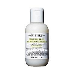Kiehl's - Olive Fruit Oil Travel Size Nourishing Shampoo 75ml