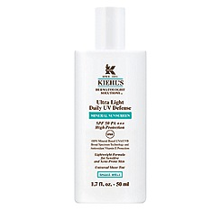 Kiehl's - Ultra Light Daily UV Defence' mineral sunscreen SPF 50 50ml