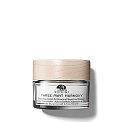 Origins - 'Three Part Harmony' nourishing cream 50ml