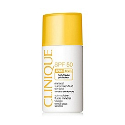 Clinique - 'Mineral sunscreen' SPF 50 fluid for face 30ml