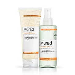 Murad - 'Essential-C' cleanser and toner duo set