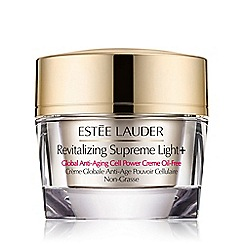 Estée Lauder - 'Revitalising Supreme Light+' global anti ageing cell power cream