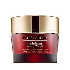 Estée Lauder - 'Nutritious Vitality8' night radiant overnight cream 50ml