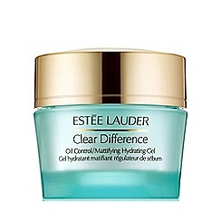Estée Lauder - 'Clear Difference' oil control hydrating gel 50ml