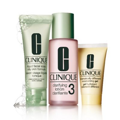 Clinique -  3 Step Introduction  skincare gift set 5122250c89
