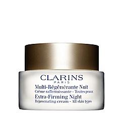 Clarins - 'Extra-Firming' rejuvenating night cream 50ml