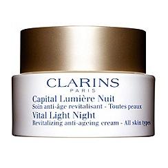 Clarins - 'Vital Light' night revitalizing anti ageing comfort cream 50ml