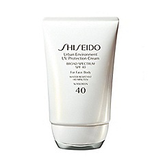Shiseido - 'Urban Environment' SPF 40 UV protection cream 50ml