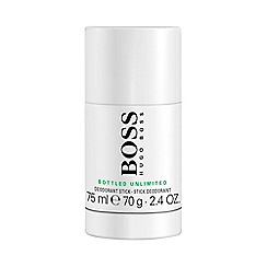 HUGO BOSS - 'Boss Bottled Unlimited' deodorant stick 75g