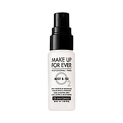 MAKE UP FOR EVER - 'Mist And Fix' travel size setting spray 30ml
