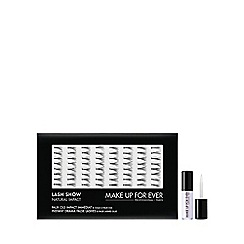MAKE UP FOR EVER - 'Lash Show' natural impact no. N602 false eyelashes