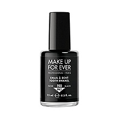 MAKE UP FOR EVER - 'Pro Only' black teeth enamel 15ml
