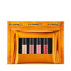 MAC Cosmetics - 'Shiny Pretty Things' Miniature Size Nude Party Favours Lip Gloss Gift Set