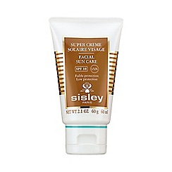 Sisley - 'Super Cream Solaire Visage' SPF 10 low protection facial sun care 60ml