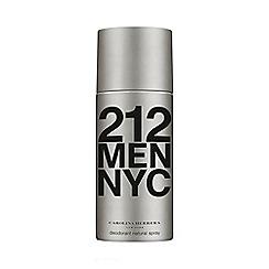 Carolina Herrera - '212 Men' deodorant natural spray