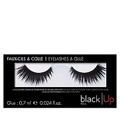 black Up - 'No.6' false eyelashes