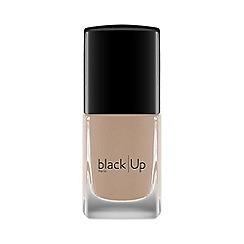 black Up - Nude beige grey no. 1 nail polish 11ml
