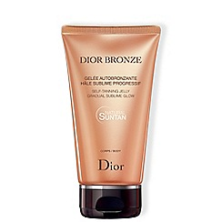 DIOR - 'Dior Bronze' self tanning jelly gradual glow body