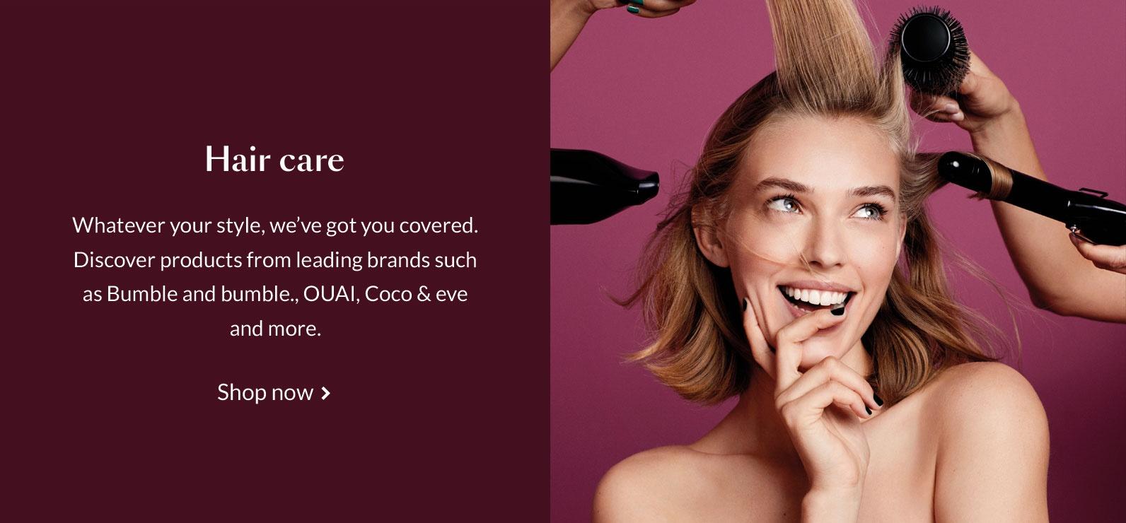 haircare | debenhams