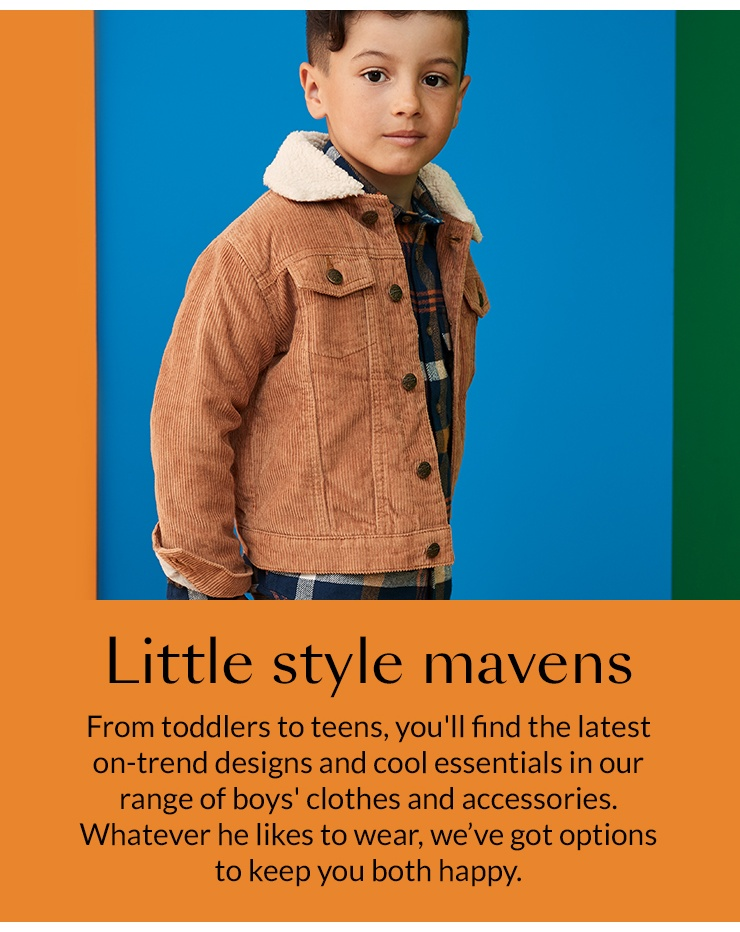 Kids' clothing & accessories