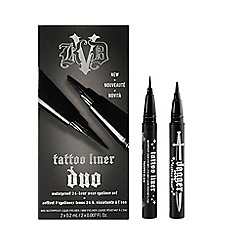 Kat Von D - 'Tattoo Liner' Miniature Size Duo