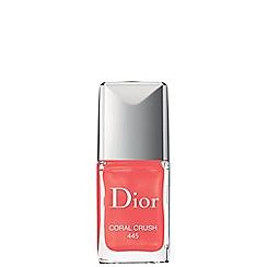 DIOR - 'Vernis Couture' coral crush no. 445 nail polish 10ml