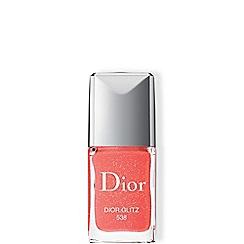 DIOR - 'Dior Vernis - 538 Dior Glitz Glittery Coral' nail polish