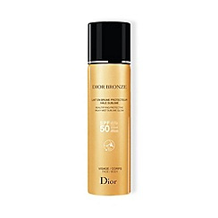 DIOR - 'Bronze' Protective SPF 50 Face and Body Mist 125ml