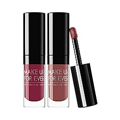 MAKE UP FOR EVER - 'Artist' liquid lipstick duo
