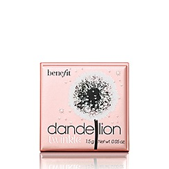 Benefit - 'Dandelion Twinkle' travel size powder highlighter 1.5g