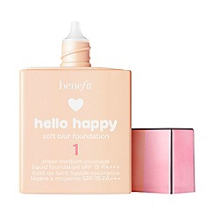 Benefit - 'Hello Happy' SPF 15 soft blur liquid foundation 30ml