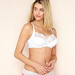 Fantasie - White 'Elodie' side support balcony bra