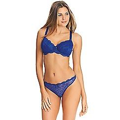 Freya - Blue lace 'Freya Fancies' padded full cup bra