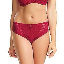 Fantasie - Red Lace 'Jacqueline' Briefs