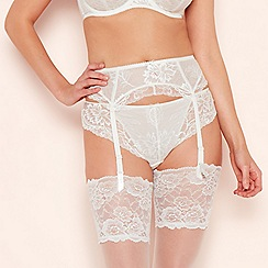 Fantasie - White Lace 'Bronte' Suspender Belt