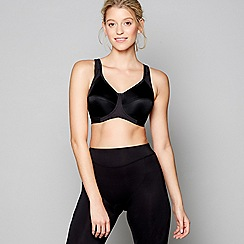 Freya - Black underwired sports bra