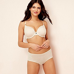 Gorgeous DD+ - Natural 'Perfect Fit' underwired moulded cups t-shirt bra