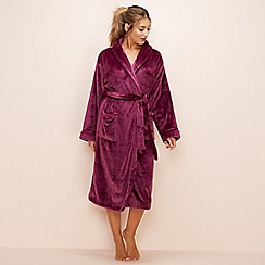 Lounge & Sleep - Purple dressing gown